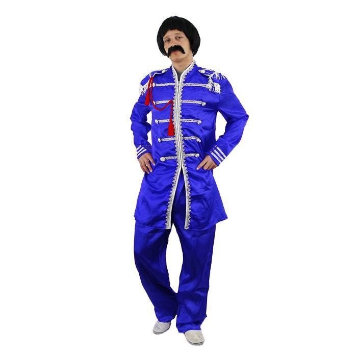 Des Plus Bleu Costume Anglais Pop 60 Célèbre Groupe Du Années 0PPwqnRx