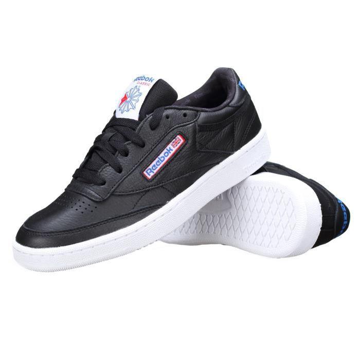Reebok Sport BS5213 Sneaker Homme Noir Noir - Chaussures Baskets basses Homme