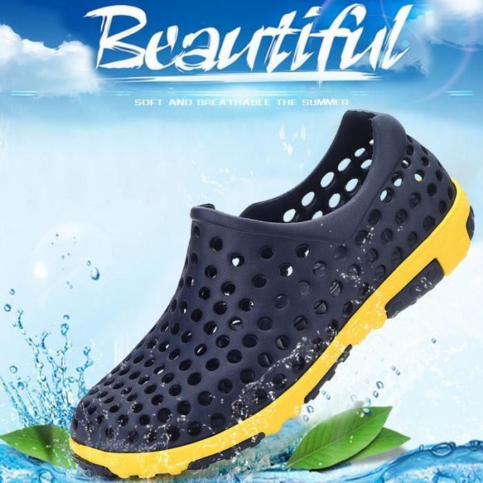 chaussures multisport Homme Plage d'étéChaussons sport de grande taille (4) Couleur bleu taille40