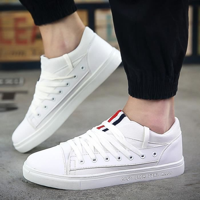 Basket Casual Mode Hommes,blanc,8,79_79