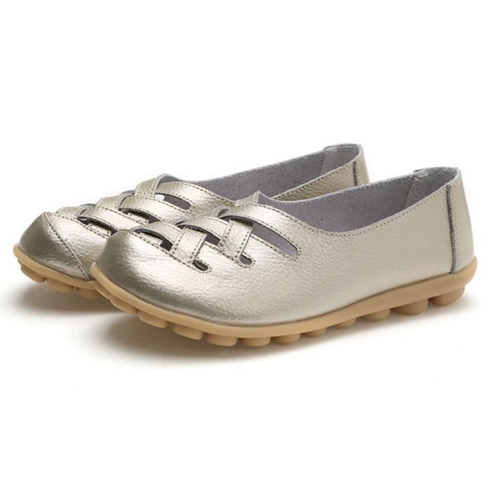 Confort de marche Casual Flat Mocassins YBP1W Taille-40 yBfvYb1Uf
