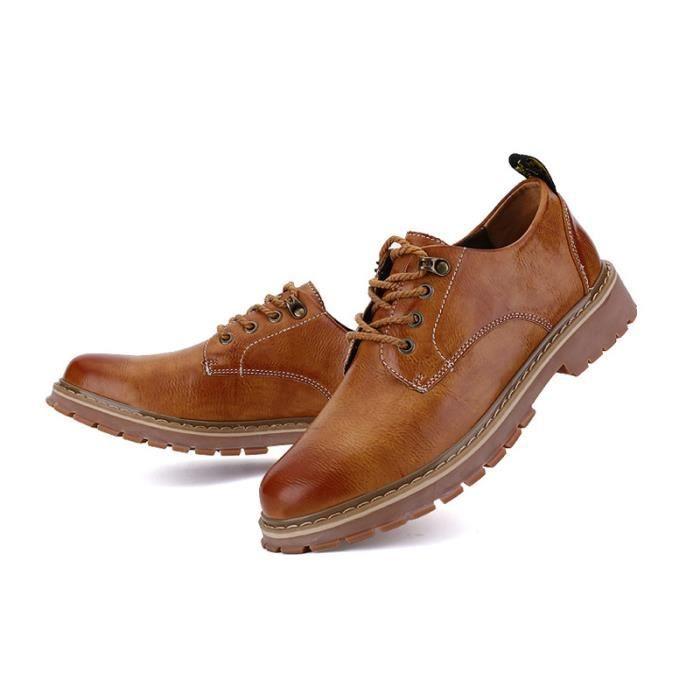 de Classique Chaussures Homme Chaussure JOZSI Cuir XZ217Gris39 ville FXG HCAqw7vxw