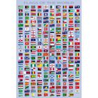 Drapeaux Du Monde Posters Xxl Noms Des Pays E Achat Vente