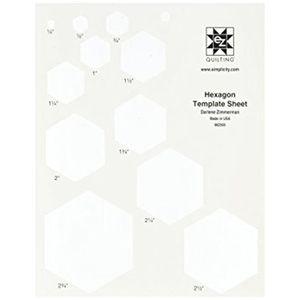 OUTIL DE SCULPTURE SIMPLICITY - EZ hexagonale modle Feuille transluci