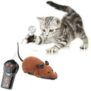 JOUET souris chat electronique télécommande jouet chats