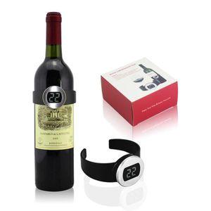 THERMOMÈTRE VIN Thermomètre à vin bracelet - livré dans un coffret