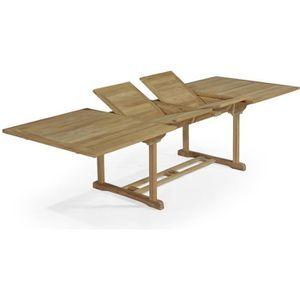 Table de jardin en bois rectangulaire - Achat / Vente Table de ...
