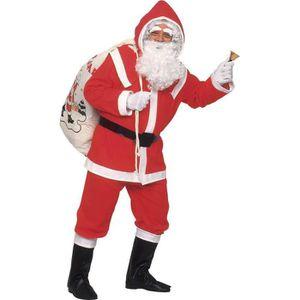 d7f3695b91009 DÉGUISEMENT - PANOPLIE Déguisement Père Noël luxe homme - Taille Unique
