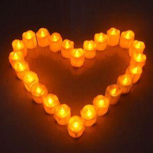 BOUGIE DÉCORATIVE Giftgarden bougie à LED sans flame Lot de 12 Lumiè