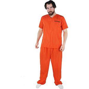 DÉGUISEMENT - PANOPLIE Déguisement de prisonnier orange avec un haut + un