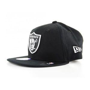 a6d6d42a639b9 CASQUETTE Casquette Enfant New Era Oakland Raiders Noir Yout