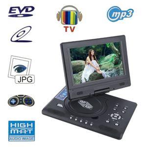 LECTEUR DVD PORTABLE Lecteur dvd numérique portable Support USB et cart