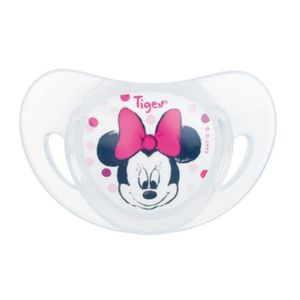 TÉTINE TIGEX  Minnie 2 Sucettes Physiologiques Silicone +