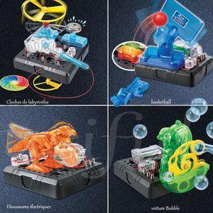 EXPÉRIENCE SCIENTIFIQUE STEM- Jeux de électronique- 120 combinaisons DIY j