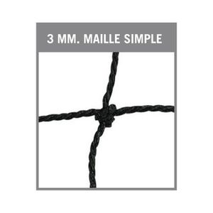 FILET VOLLEY-BALL Filet volleybal-bande PVC-Maille simple de 100 mm