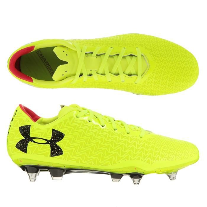 UNDER ARMOUR Chaussures de football Clutchfit Force 3.0 Hyb - Jaune