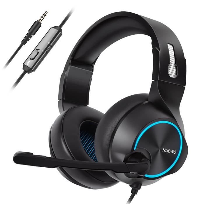Nubwo N11 Gaming Musique Filaire Casque Léger Miettelove®818