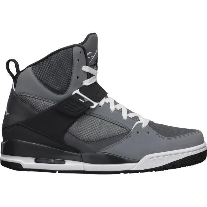 chaussures de séparation 6ba8d 78ee6 Air Jordan Flight 45 High - 616816-034 noir Gris noir ...