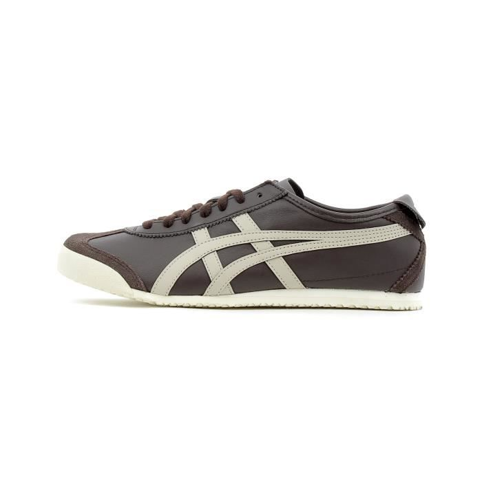 differently 0fd71 87869 Onitsuka Tiger Mexico 66 D4J2L-2912 Homme Baskets Marron