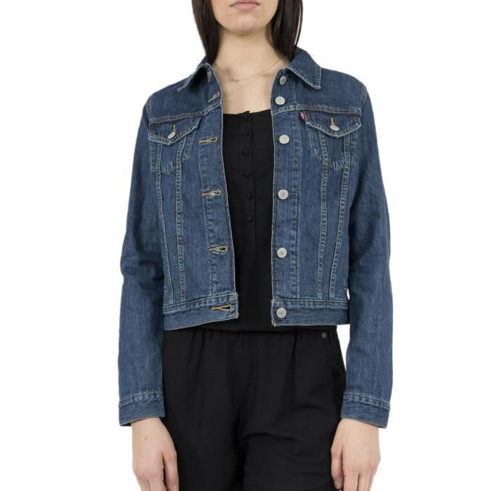 BLOUSON blousons jeans levis 29945 original trucker bleu