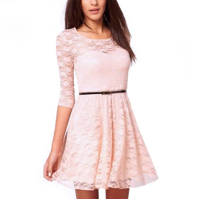 Femmes Robe patineuse 2ERPIE Taille-38