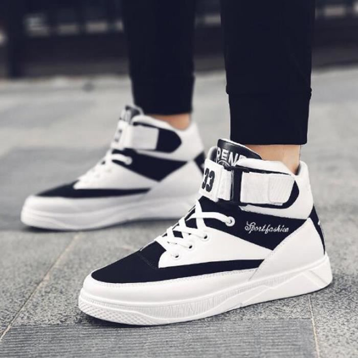 Chaussures montantes Mode Chaussure Homme Basket Homme Skate Shoes