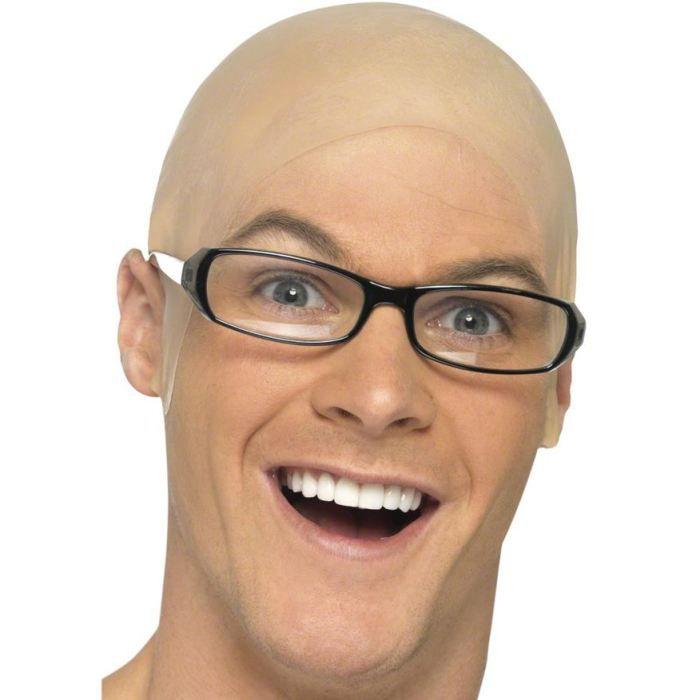 Crâne chauve souple adulte