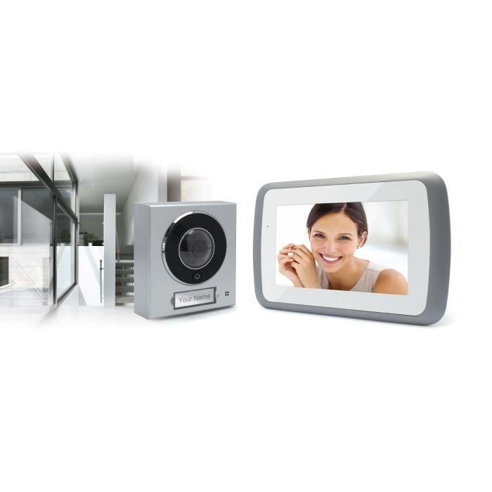 thomson interphone vidéo couleur 7 pouces - achat / vente