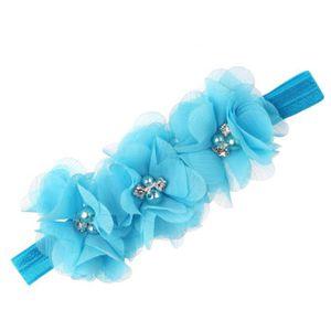 Napoulen®Pied fleurs coloré pieds nus sandales et bandeau ensemble pour bébé enfant fille-XPP10202125 FK8aSHjbJ