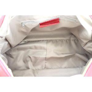 f370a88a39 ... SAC À MAIN OH MY BAG Sac à main femme en cuir souple rouge. ‹›