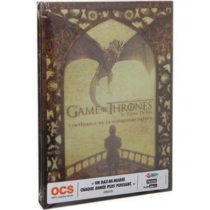 DVD SÉRIE DVD Coffret game of thrones, saison 5