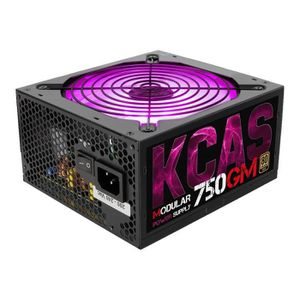 ALIMENTATION INTERNE AEROCOOL Alimentation PC KCAS-750GM - 750W - 80PLU