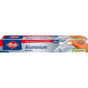 EMBALLAGE ALIMENTAIRE  ALBAL Papier Aluminium Alimentaire 30 m