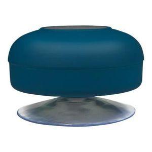 ENCEINTE NOMADE ANTEC Enceinte Bluetooth Spot de douche Bleue