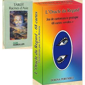 CARTES DE JEU 1 Tarot + 1 Oracle - 146 Lames - La Recherche et l