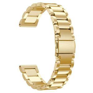MONTRE CONNECTÉE Bracelet en acier inoxydable Montre bracelet bande