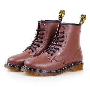 BOTTINE Martin bottes Homme Automne D'hiver Chaussures de