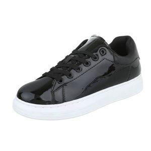 Femme chaussures loisirs chaussures Chaussures de sport Sneaker noir Multi 40 D6dwK