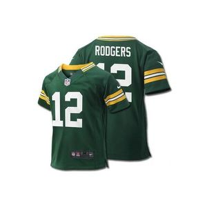 SHORT DE BASKET-BALL Maillot NFL Aaron Rodgers Greenbay Packers Nike Ga