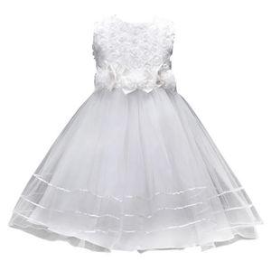 13ef60d5704c0 ROBE DE CÉRÉMONIE Robe de Mariage Enfant Robe de Mariée Cérémonie Fi