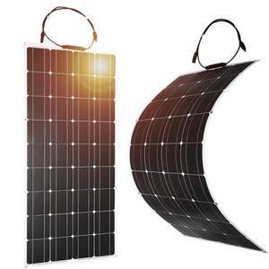 KIT PHOTOVOLTAIQUE Jeu de 2 100W module solaire panneau solaire photo