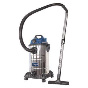 ASPIRATEUR INDUSTRIEL Aspirateur à eau et poussière 30l 1400W - SCHEPPAC