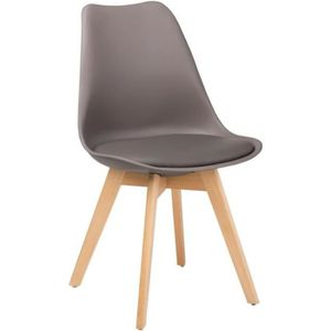 CHAISE Chaise Nordic Gris Taupe