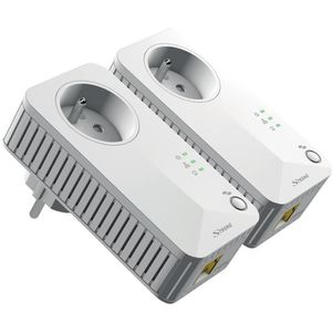 COURANT PORTEUR - CPL STRONG Kit 2 adaptateurs CPL filaire 500 Mbit/s, p