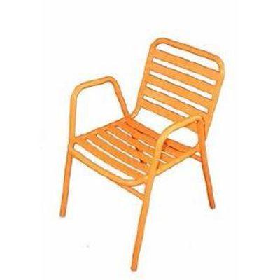 Fauteuil De Jardin RETRO Orange - Achat / Vente fauteuil jardin ...