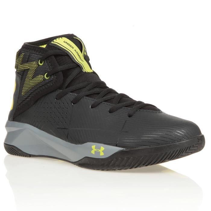 UNDER ARMOUR Chaussures de basketball Rocket 2 - Gris foncé