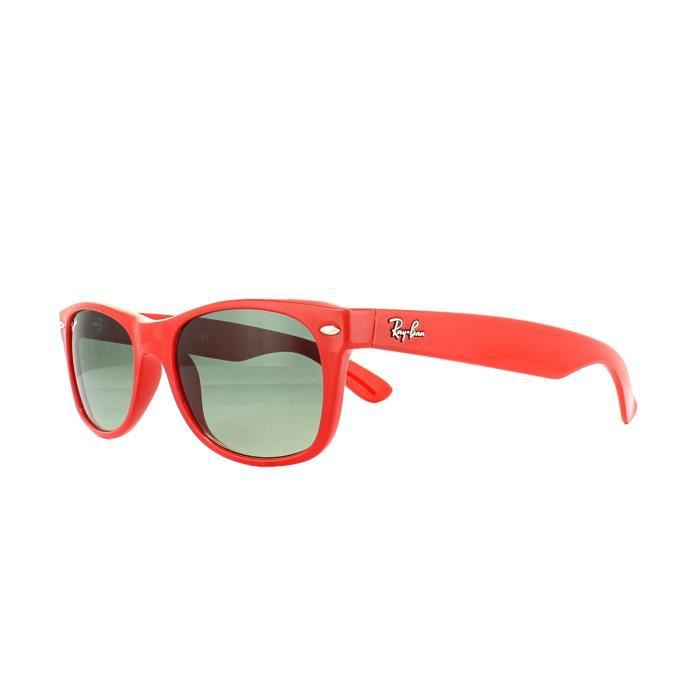 Ray S Wayfarer Gradient 606771 Red 52mm New 2132 Sunglasses Grey Ban 8PO0knw