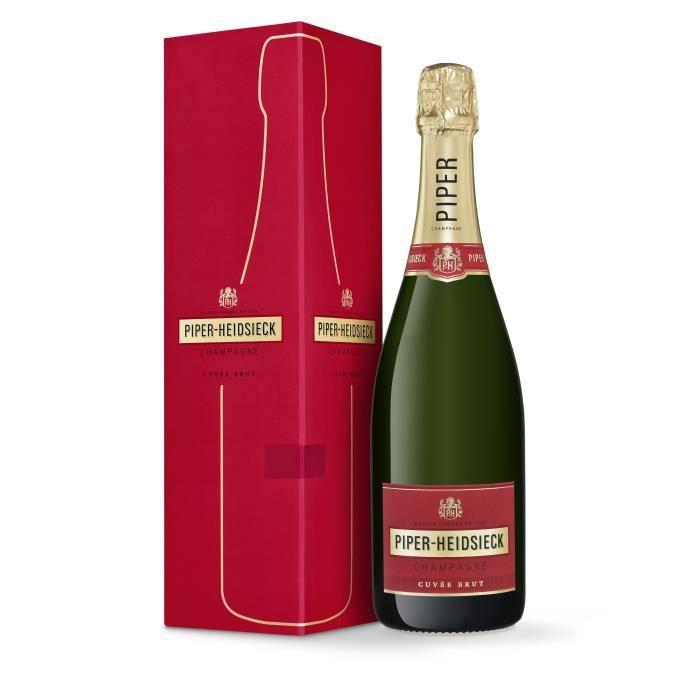 CHAMPAGNE Champagne Piper-Heidsieck Cuvée Brut (avec étui) -