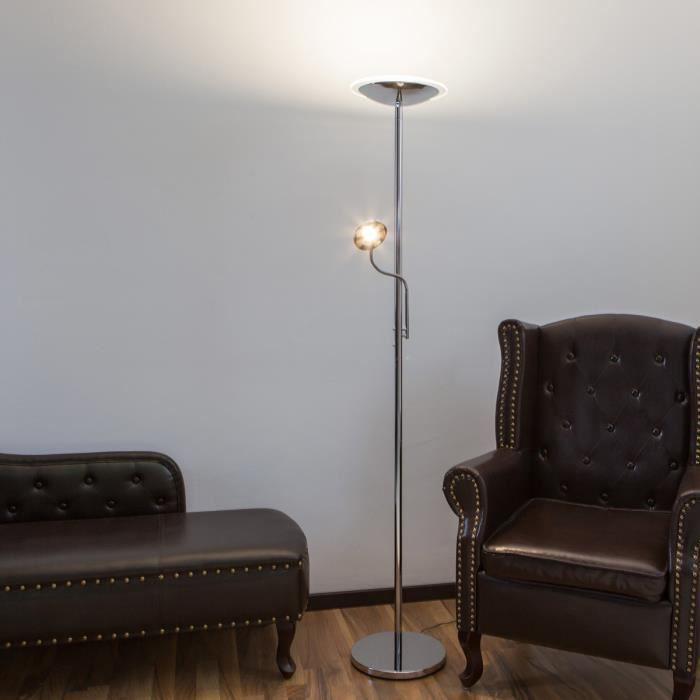 À Salon Lampadaire Salle Led Intensité Et Malea Lampenwelt Pour Variable Manger YHE9D2WI