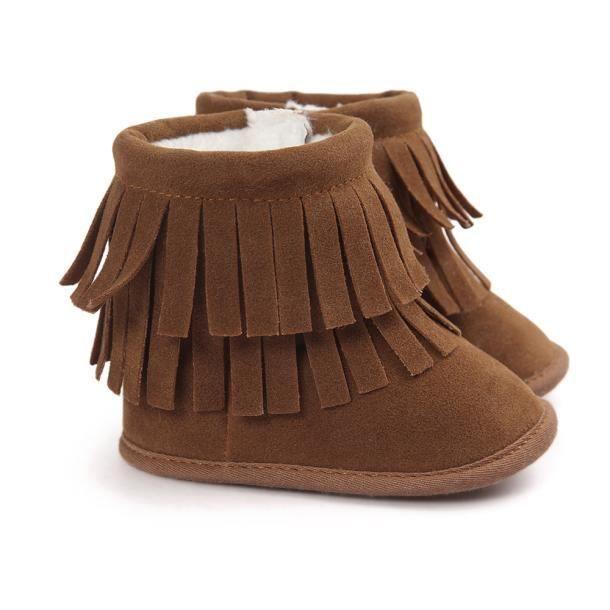 Garde-boue à double pont Garder chaud soft neige bottes Soft berceau chaussures tout-petits Botts kaki